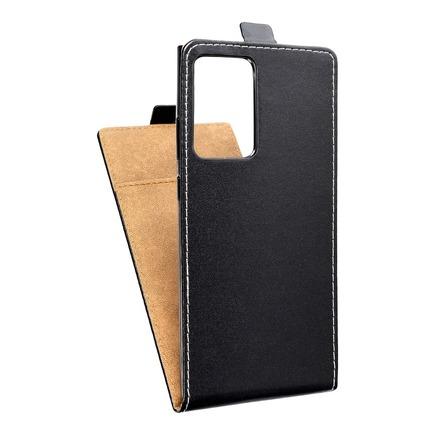 Pouzdro Slim Flexi Fresh svislé Samsung Galaxy Note 20 Plus černé