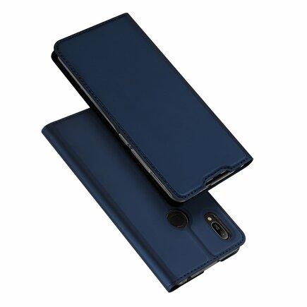 Skin Pro pouzdro s klapkou Huawei Y6 2019 / Honor 8A Pro modré