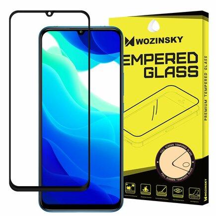 Super odolné tvrzené sklo Full Glue na celý displej s rámem Case Friendly Xiaomi Mi 10T Lite černé