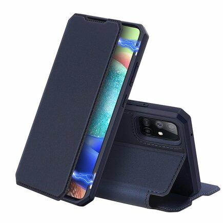 DUX DUCIS Skin X pouzdro s flipovým krytem Samsung Galaxy A71 5G modré