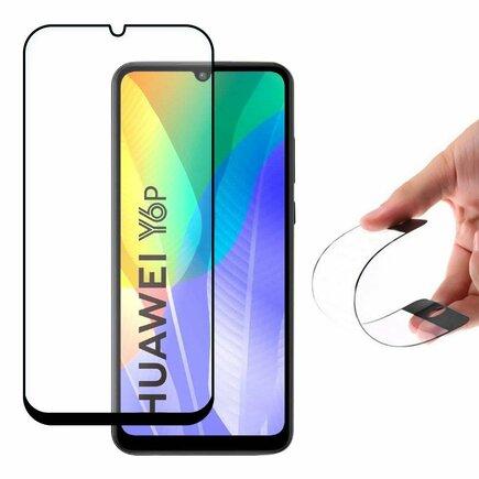 Full Cover Flexi Nano skleněná fólie s rámem Samsung Galaxy A41 černá