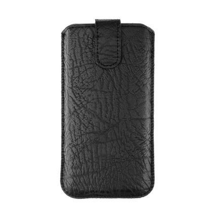 Kožené pouzdro Slim Kora 2 Samsung S10/Note 10/J3 2017 /Sony Xperia Z3/Z4/Z5 Huawei P30/P9/P9 Lite černé