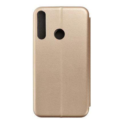Pouzdro Book Elegance Huawei Y6p zlaté