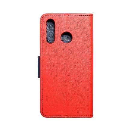 Pouzdro Fancy Book Huawei P30 Lite červené/tmavě modré