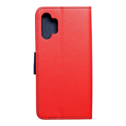 Pouzdro Fancy Book Samsung A32 5G červené/tmavě modré