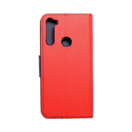 Pouzdro Fancy Book Xiaomi Note 8T červené/tmavě modré
