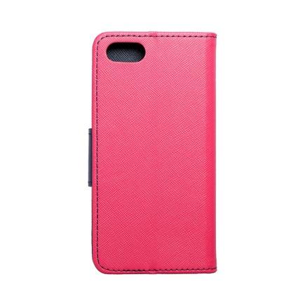 Pouzdro Fancy Book iPhone 7 / 8 / SE 2020 růžové/tmavě modré