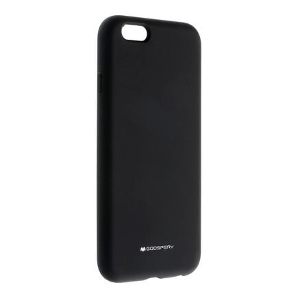 Pouzdro Mercury Silicone iPhone 6 / 6S černé
