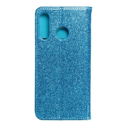 Pouzdro Shining Book Huawei P30 Lite modré
