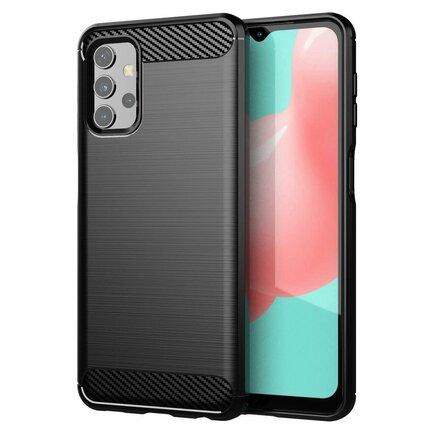 Carbon Case elastické pouzdro Samsung Galaxy A32 4G černé
