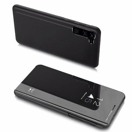 Clear View Case pouzdro s klapkou OnePlus Nord černé