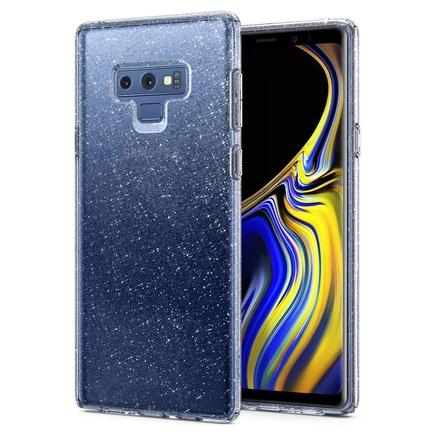 Liquid Crystal Glitter gelové lesklé pouzdro Samsung Galaxy Note 9 N960 průsvitné (599CS24570)