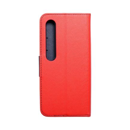 Pouzdro Fancy Book Xiaomi Mi 10 Pro červené/tmavě modré