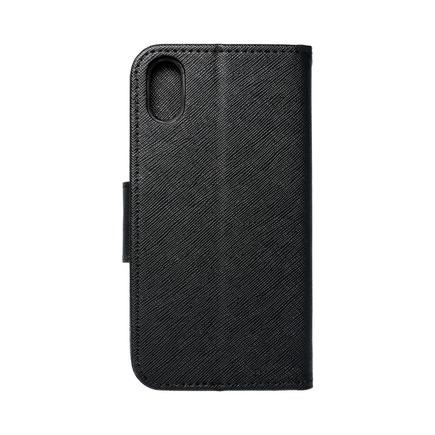 Pouzdro Fancy Book iPhone XS černé