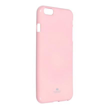 Pouzdro Jelly Mercury iPhone 6 / 6S Plus světle růžové