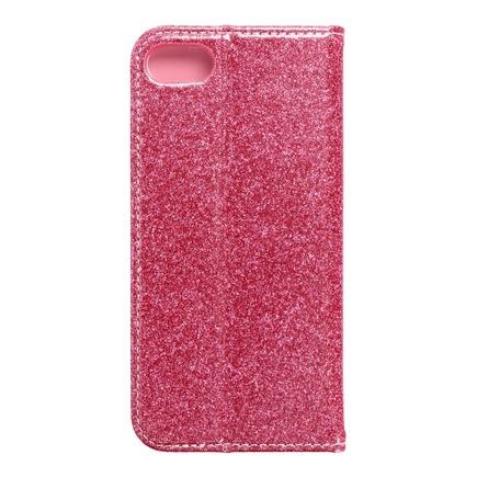 Pouzdro Shining Book iPhone 7 / 8 růžové