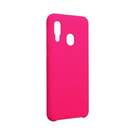 Pouzdro Silicone Samsung Galaxy A20E růžové