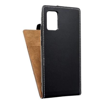 Pouzdro Slim Flexi Fresh svislé Samsung Galaxy A02S černé
