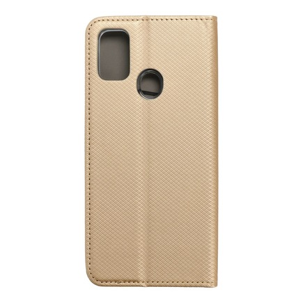 Pouzdro Smart Case book Samsung M21 zlaté