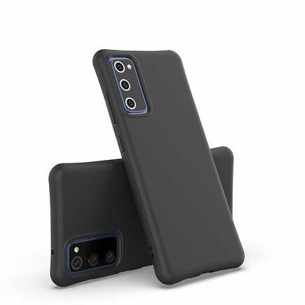 Soft Color Case elastické gelové pouzdro Samsung Galaxy S20 FE 5G černé