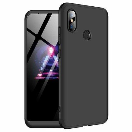 360 Protection Case pouzdro na přední i zadní část telefonu Xiaomi Redmi Note 6 Pro černé