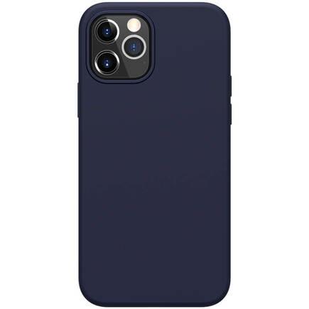 Flex Pure Liquid Silikonové pouzdro pro iPhone 12/12 Pro modré