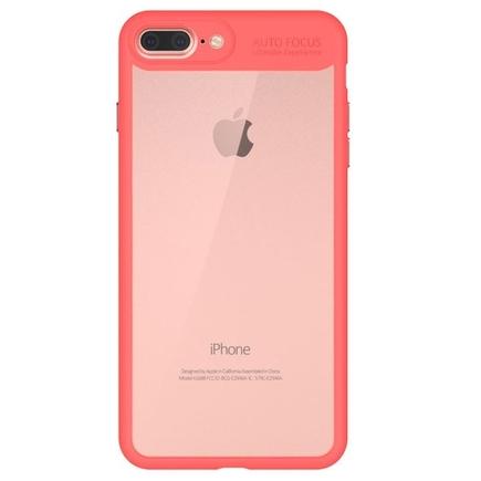 Frame elastické gelové pouzdro s rámem iPhone 8 Plus / 7 Plus červené