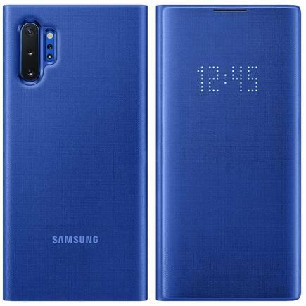LED View Cover pouzdro s LED displejem Samsung Galaxy Note 10 Plus modré (EF-NN975PLEGWW)