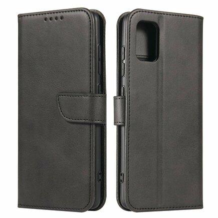 Magnet Case elegantní pouzdro s klapkou a funkcí podstavce Samsung Galaxy A51 5G černé