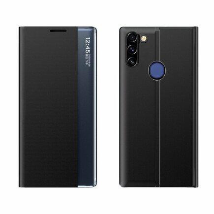 New Sleep Case pouzdro s klapkou s funkcí podstavce Samsung Galaxy A11 / M11 černé