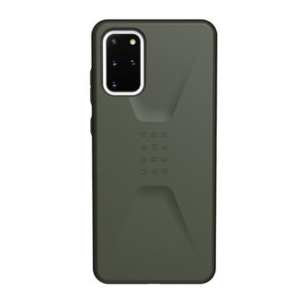 Pouzdro Civilian Samsung S20 Plus olivově zelené