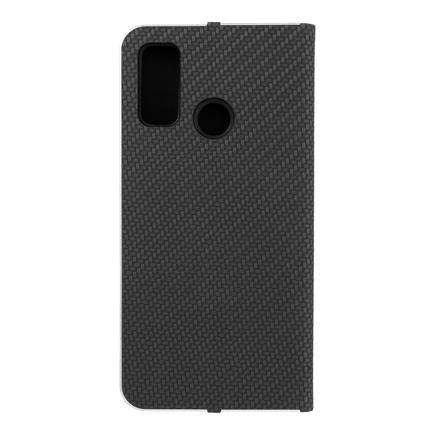 Pouzdro Luna Carbon Huawei P Smart 2020 černé