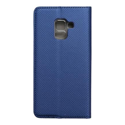 Pouzdro Smart Case book Samsung Galaxy A5 2018 / A8 2018 tmavě modré