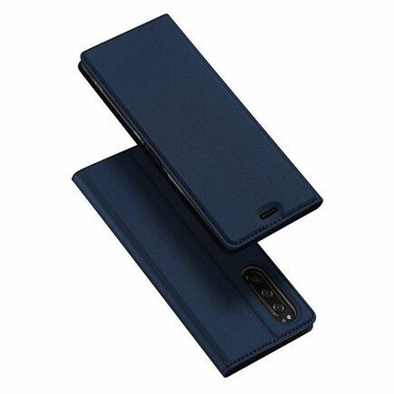 Skin Pro pouzdro s klapkou Sony Xperia 5 modré