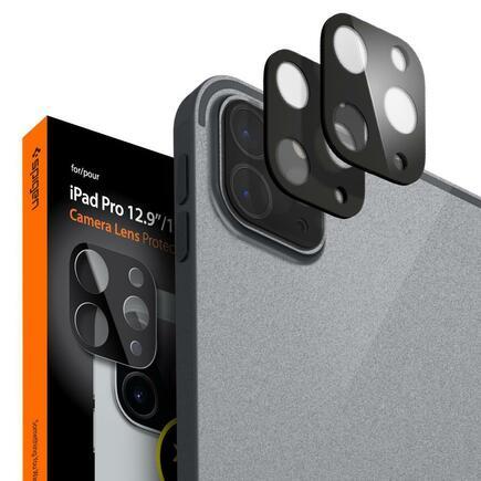Spigen tvrzené sklo Glass Fc Camera Lens 2-Pack iPad Pro 11 / 12.9 2020 černé