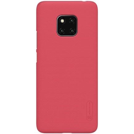 Super Frosted Shield zesílené pouzdro + podstavec Huawei Mate 20 Pro červené