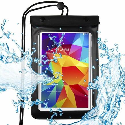 Univerzální voděodolné pouzdro na telefon/tablet do 8 palců černé