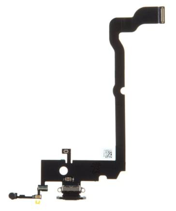 iPhone XS Max Flex Kabel vč. Dobíjecího Konektoru černý