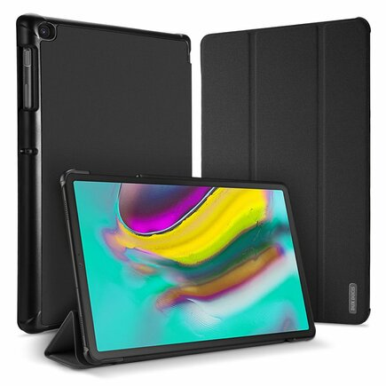 Domo skládané pouzdro na tablet s funkcí Smart Sleep podstavec Samsung Galaxy Tab S5e T720 T725 černé