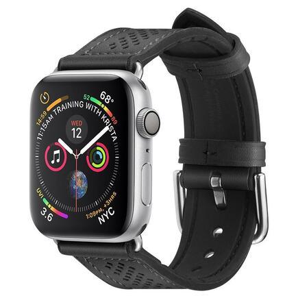 Kožený pásek Retro Fit Band Apple Watch 1/2/3/4/5 (42/44MM) černý