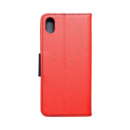 Pouzdro Fancy Book Huawei Y5 2019 červené/tmavě modré