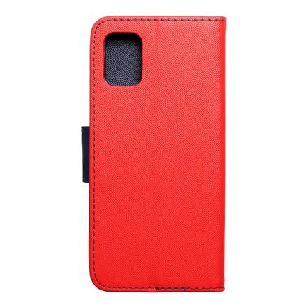 Pouzdro Fancy Book Samsung A31 červené/tmavě modré