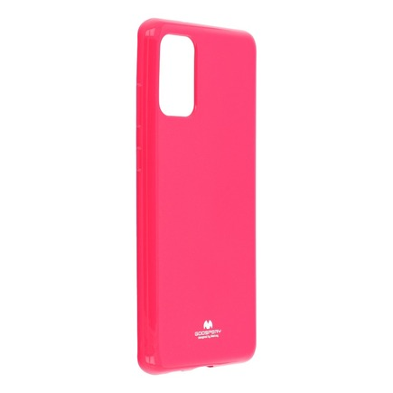 Pouzdro Jelly Mercury Samsung Galaxy S20 Plus růžové