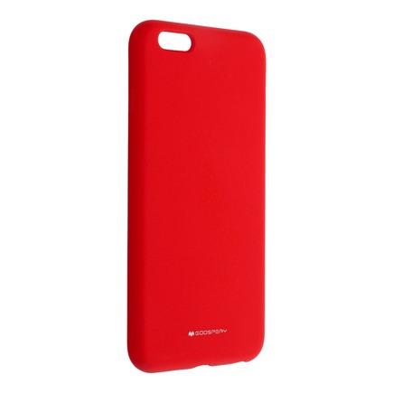 Pouzdro Mercury Silicone iPhone 6 Plus / 6S Plus červené
