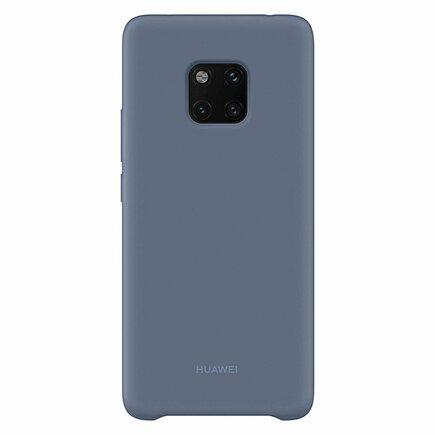Silicone Case elastické silikonové pouzdro Huawei Mate 20 Pro modré (51992684)