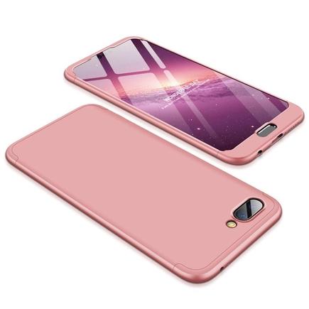 360 Protection pouzdro na přední i zadní část telefonu Huawei Honor 10 růžové