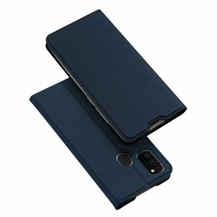 DUX DUCIS Skin Pro pouzdro s klapkou Samsung Galaxy M30s modré