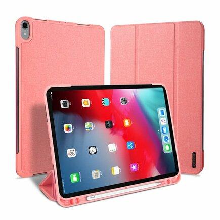 Domo skládané pouzdro na tablet s funkcí Smart Sleep podstavec iPad Pro 11 2018 růžové