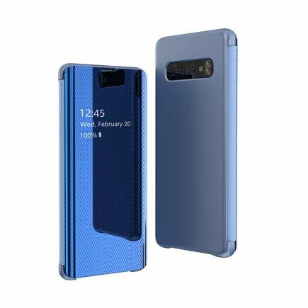 Flip View pouzdro s klapkou Samsung Galaxy S10 Plus modré