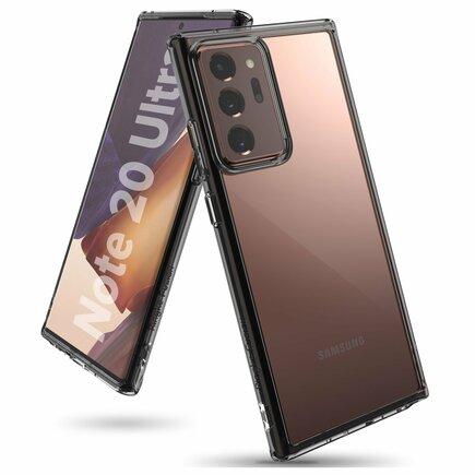 Fusion pouzdro s gelovým rámem Samsung Galaxy Note 20 Ultra černé (FSSG0083)